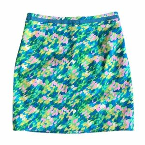 Boden Multicolor Pencil Skirt Size 8
